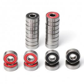 10 Uds 608 2RS rodamiento ABEC-7 ABEC-9 8X22X7mm de profundidad de ranura de acero rodamientos de bolas 608RS Z3V3 608-2RS 608rs